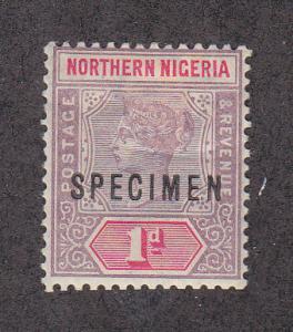 Northern Nigeria Scott #SG2 Specimen Ovpt
