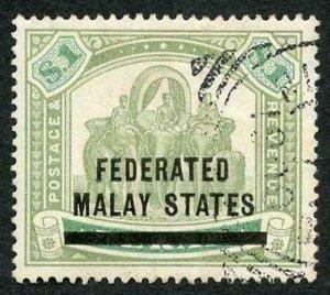 Malay States SG11 Malay States on One Dollar Perak
