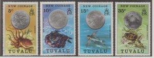 Tuvalu Scott #19-22 Stamps - Mint NH Set
