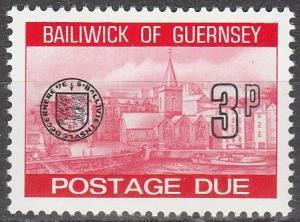 Guernsey #J21 MNH (S9402)
