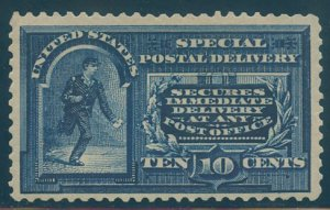 US Scott #E5a Mint, VF, Hinged, Dots in frame variety