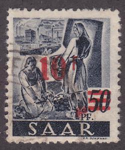 Saar 184 Harvesting Sugar Beets O/P 1947