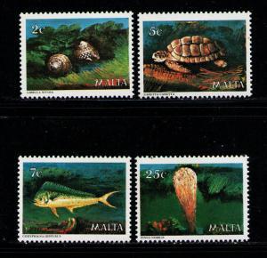 MALTA 1979 MNH SC.563/566 Marine Life