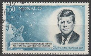 Monaco #596 F-VF Used (V2035)