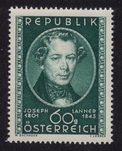 Austria    #574  MNH 1951  Joseph Lanner