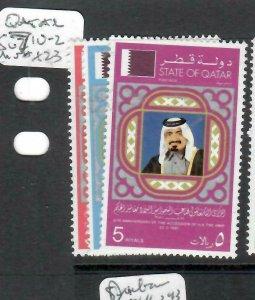 QATAR (PP0106BB)  SG 710-2    MNH