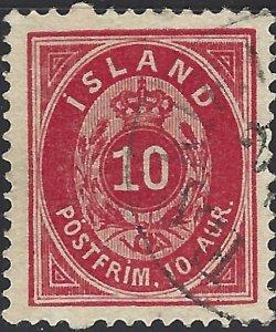 Iceland #11, Used