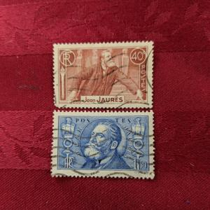 France 313-4 VF-XF set, CV $5.15