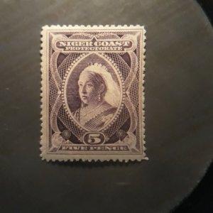 Niger Coast 47  1894  unused  VF