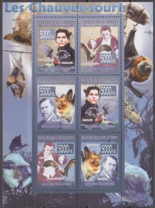 2008 Guinea 5565-70KL The bats 12,00 €