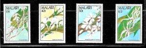 #8502 MALAWI  1990 FLORA  FLOWERS  ORCHIDS YV 565-8 MNH
