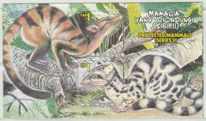 Malaysia 2000 Protected Mammals 2nd Series MS SG#MS932