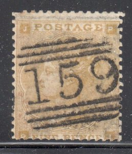 Great Brittain #40 used --- WMK 24 -- NO FAULTS -- C$400,00 - Special cancel #15