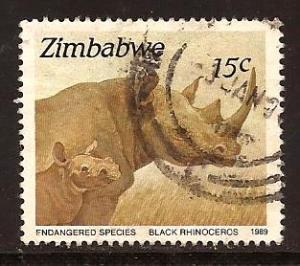 Zimbabwe  #  594  used