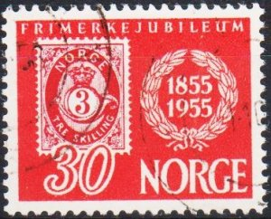 Norway. 1955 30ore  S.G.453 Fine Used
