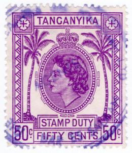 (I.B) KUT Revenue : Tanganyika Duty 50c
