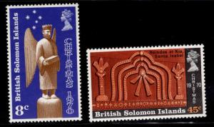 British Solomon Islands Scott 212-213 MNH** set