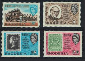 Rhodesia 28th Congress of Southern Africa Philatelic Federation 'Rhopex' 4v