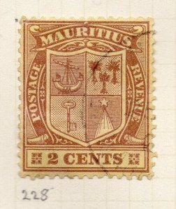Mauritius 1926 Early Issue Fine Used 2c. NW-90925