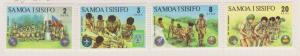 Samoa Sc#383-386 MH