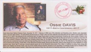 6° Cachets Ossie Davis birth centennial actor civil rights activist