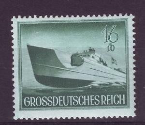 J7156 JLs stamps 1944 mnh WWII nazi war scene speed boat