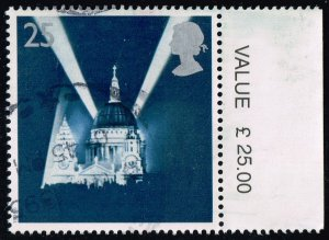 Great Britain #1614 St. Paul's Cathedral; Used (0.70)