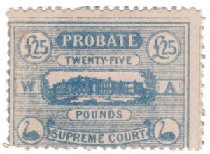 (I.B) Australia - Western Australia Revenue : Probate £25