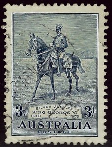 Australia SC#153 Used VF SCV$12.50...An Amazing Country!