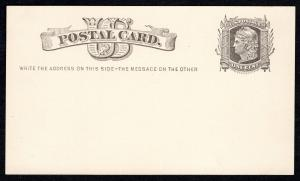Scott #UX4/S5  Mint Postal Card  SCV $85