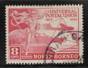 North Borneo Scott 240 used UPU stamp