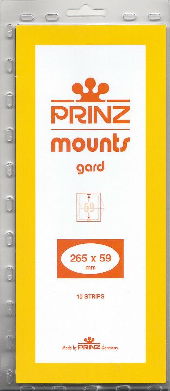 PRINZ BLACK MOUNTS 265X59 (10) RETAIL PRICE $9.50