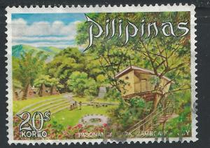 Philippines #1075 20s Tree House in Pasonanca Park, Samboanga Ciry