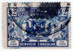 (I.B) Dominican Republic Revenue : Consular Service 2P