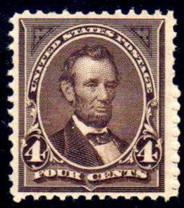 MALACK 254 F/VF OG NH, fresh NH stamp,  Choice! w3573