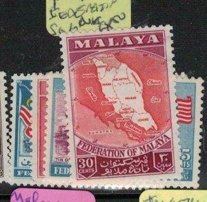 Malaya Federation SG 1-4 MNH (2eoy)