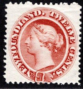 29a, NSSC, Newfoundland, Canada, 12c, VG/F, MLHOG, Queen Victoria, PostageS...