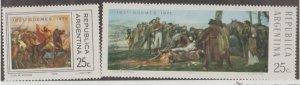 Argentina Scott #961-962 Stamp - Mint NH Set
