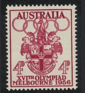 Australia Olympic Games Melbourne 4d SG#290