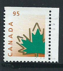 Canada SG 1830 FU  margin copy with top imperf