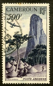 FRENCH CAMEROUN C30 USED SCV $4.00 BIN $1.75 AIRPLANE