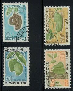 Laos 174-177 Used VF