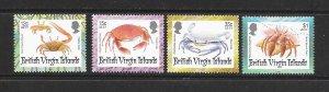 VIRGIN ISLANDS #869-72  CRABS  MNH
