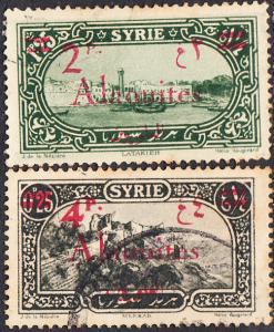Alaouites #47-48  Used