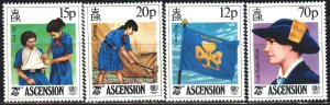Ascension. 1985. 386-89. Scout meeting. MNH.