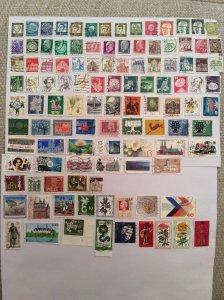 German 100+ stamps - Lot U