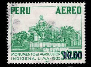 Peru  Scott C434 Used airmail stamp
