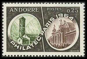 French Andorra 158 Mint VF LH