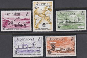 Ascension 242-246 MNH (1979)