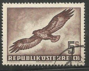 AUSTRIA  C58  USED,  BUZZARD